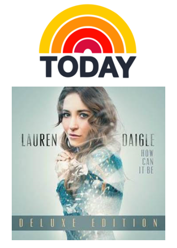 Lauren Daigle - How Can It Be - Today Show - Music Charts Magazine NEWS