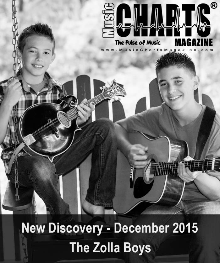 "Music Charts Magazine® presents December NEW DISCOVERY ""The Zolla Boys"""